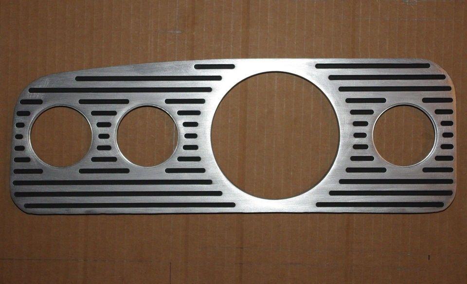 Vw Bug Empi Billet Instrument Dash Panel Dashboard Gauge Console For On Popscreen In 2020 Vw Bug Interior Vw Bug Empi