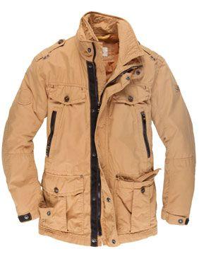 Gore Tex Field Jacket, rot | Mode, Freizeithemden und Foto blog