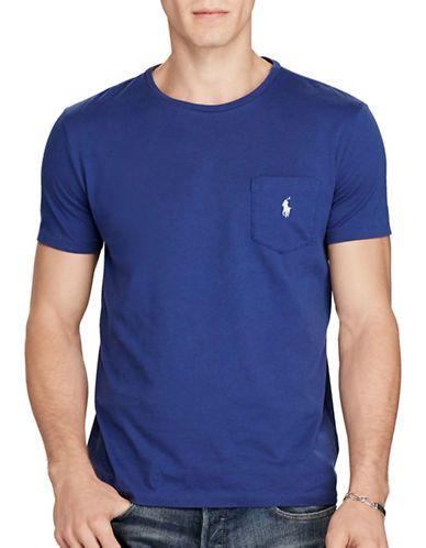 POLO RALPH LAUREN Polo Ralph Lauren Jersey Pocket Crew Neck T-Shirt.   poloralphlauren  cloth   d92b83d9ceb3