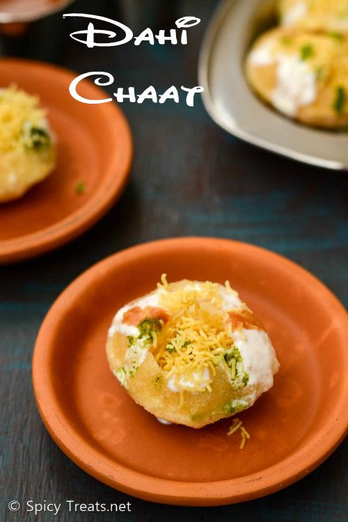 spicy treats dahi puri chaat recipe easy dahi puri chaat recipe dahi chaat recipe chaat on hebbar s kitchen halwa id=72280