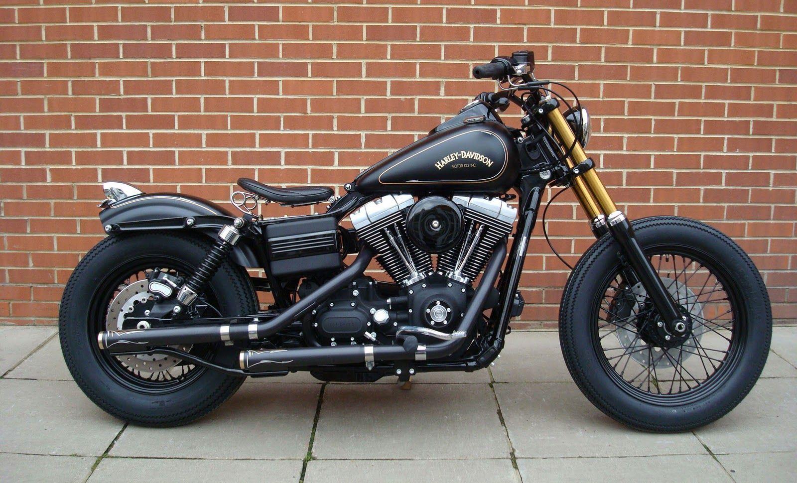 Tracker V � Custom Harley Davidson Dyna: Warrs Custom Tracker Harley
