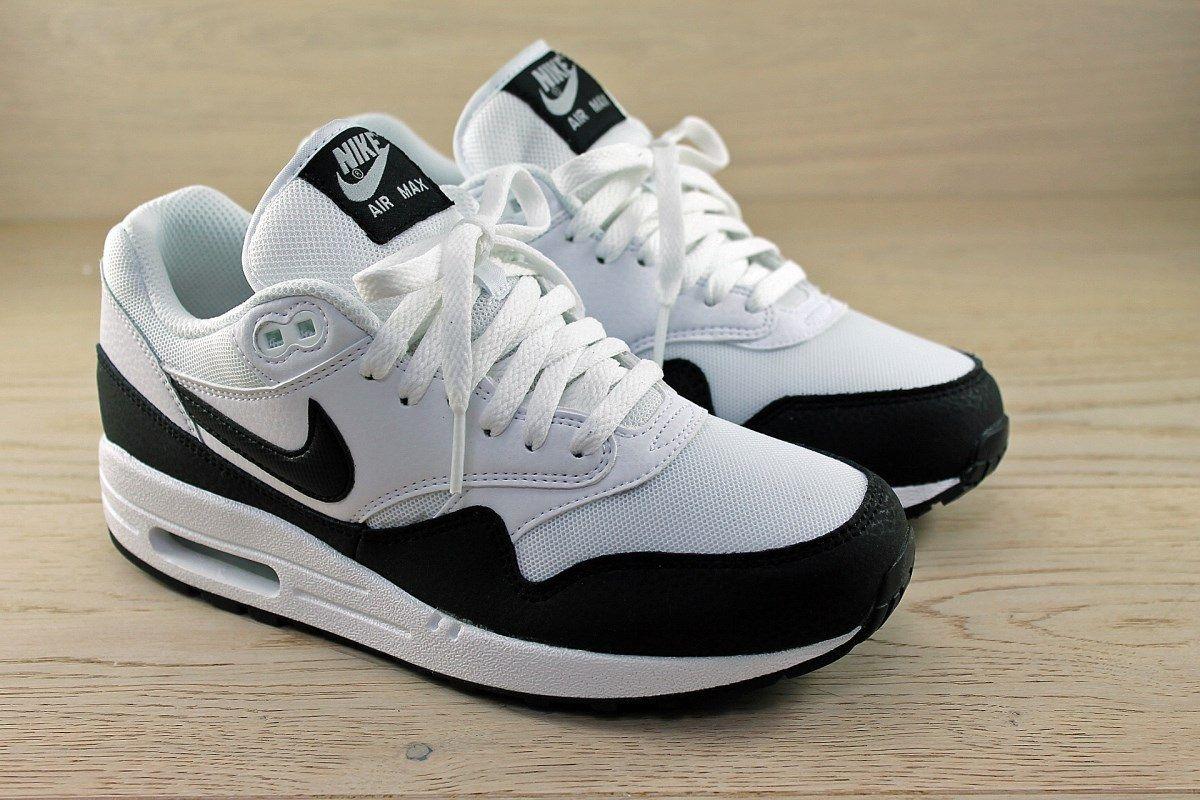 Nike WMNS AIR MAX 1 ESSENTIAL WHITE/METALLIC SILVER/BLACK 599820 115 -  Google