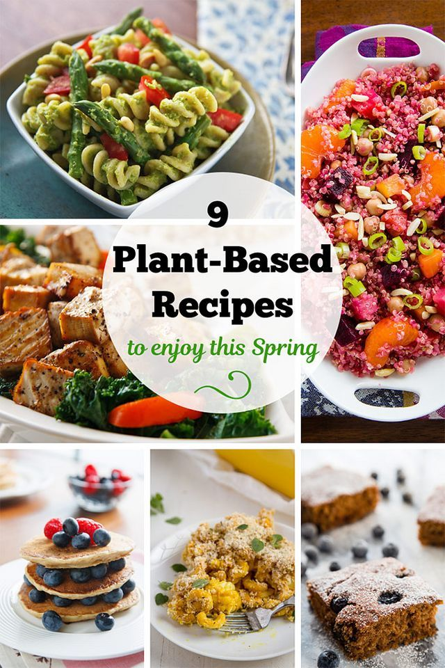 9 Plant Based Recipes To Enjoy This Spring Fatfree Vegan
