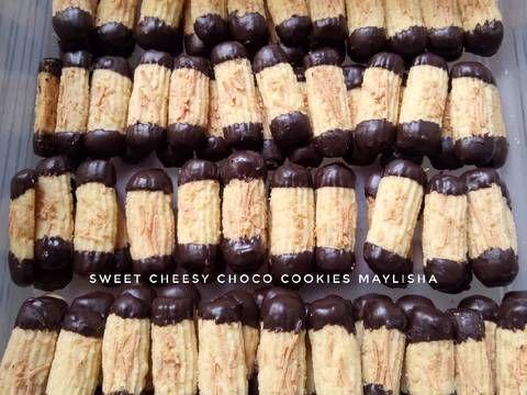 Resep Sweet Cheesy Choco Cookies Oleh Maylisha Resep Kue Kering Mentega Resep Biskuit Resep