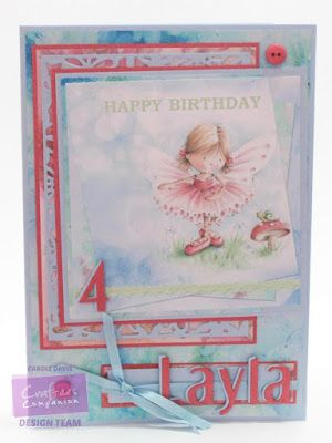 """Day 10 - Crafter's Companion Angelica and Adam CD - Die'sire A6 Daisy Dreams Create a Card - Die'sire 1"""" Alphabet dies - #crafterscompanion #photoaday"""