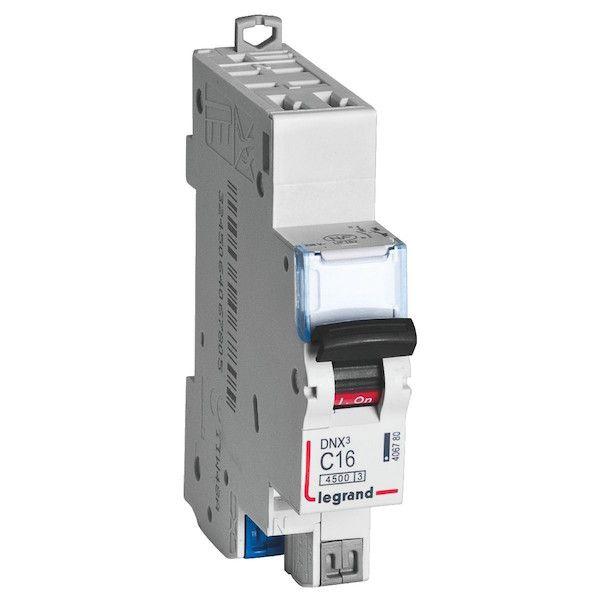 disjoncteur divisionnaire pour tableau électrique tableau