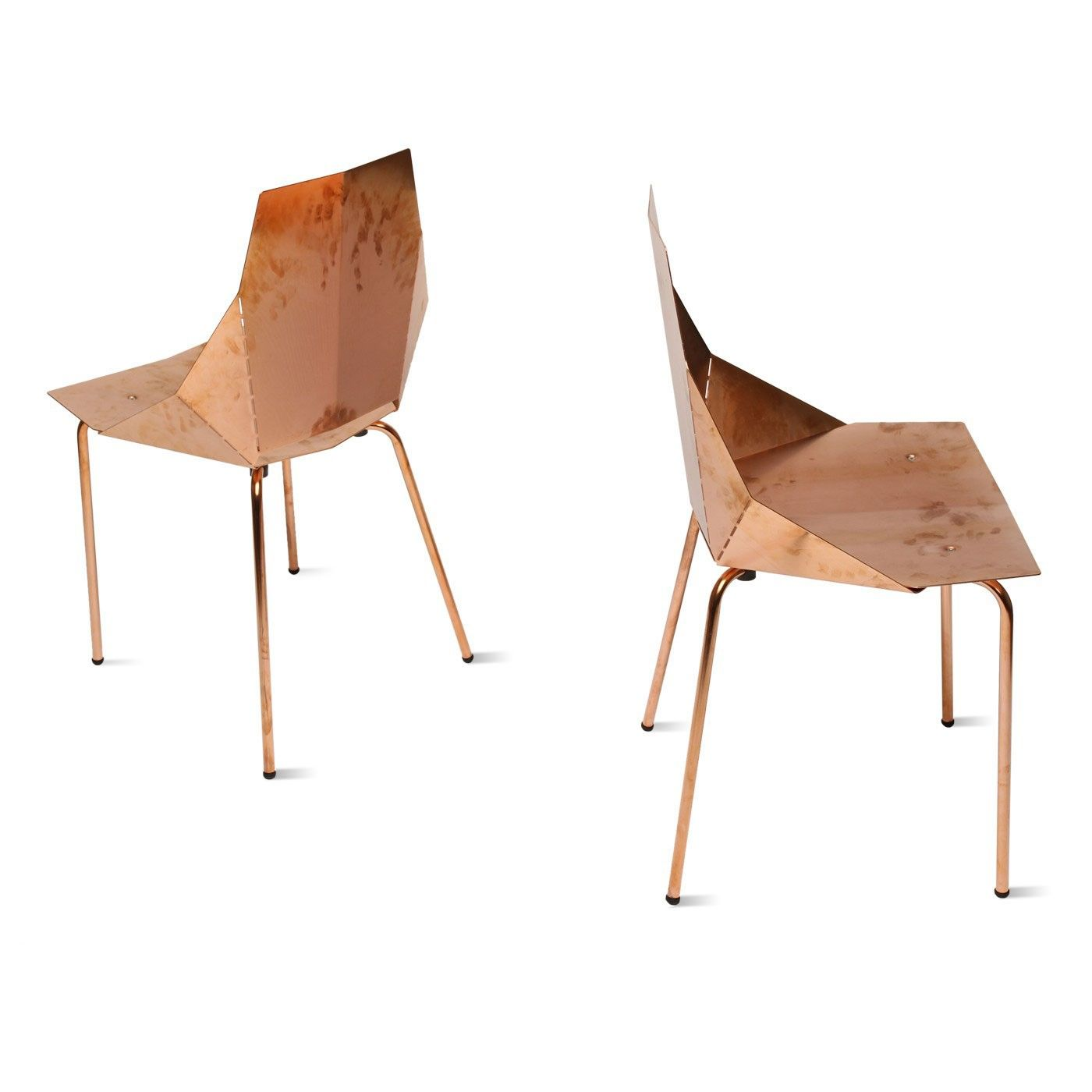 Beau Modern Chair   Copper Real Good Chair By Blu Dot We Love Bright And Shinny  Things
