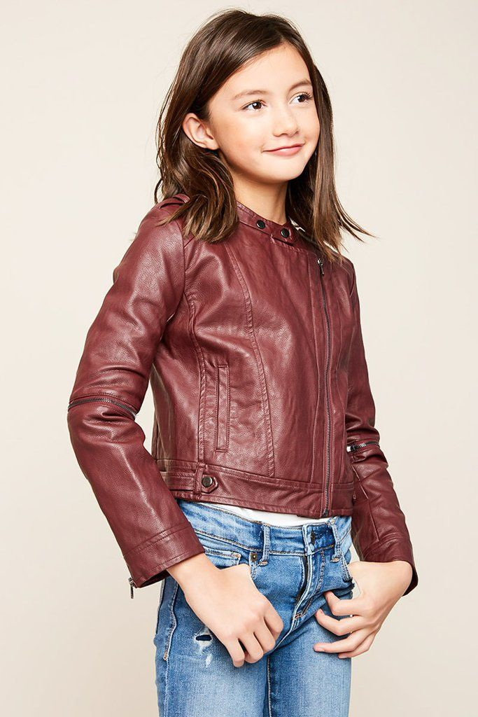 Moto Jacket Girls fashion clothes, Jackets, Cute girl