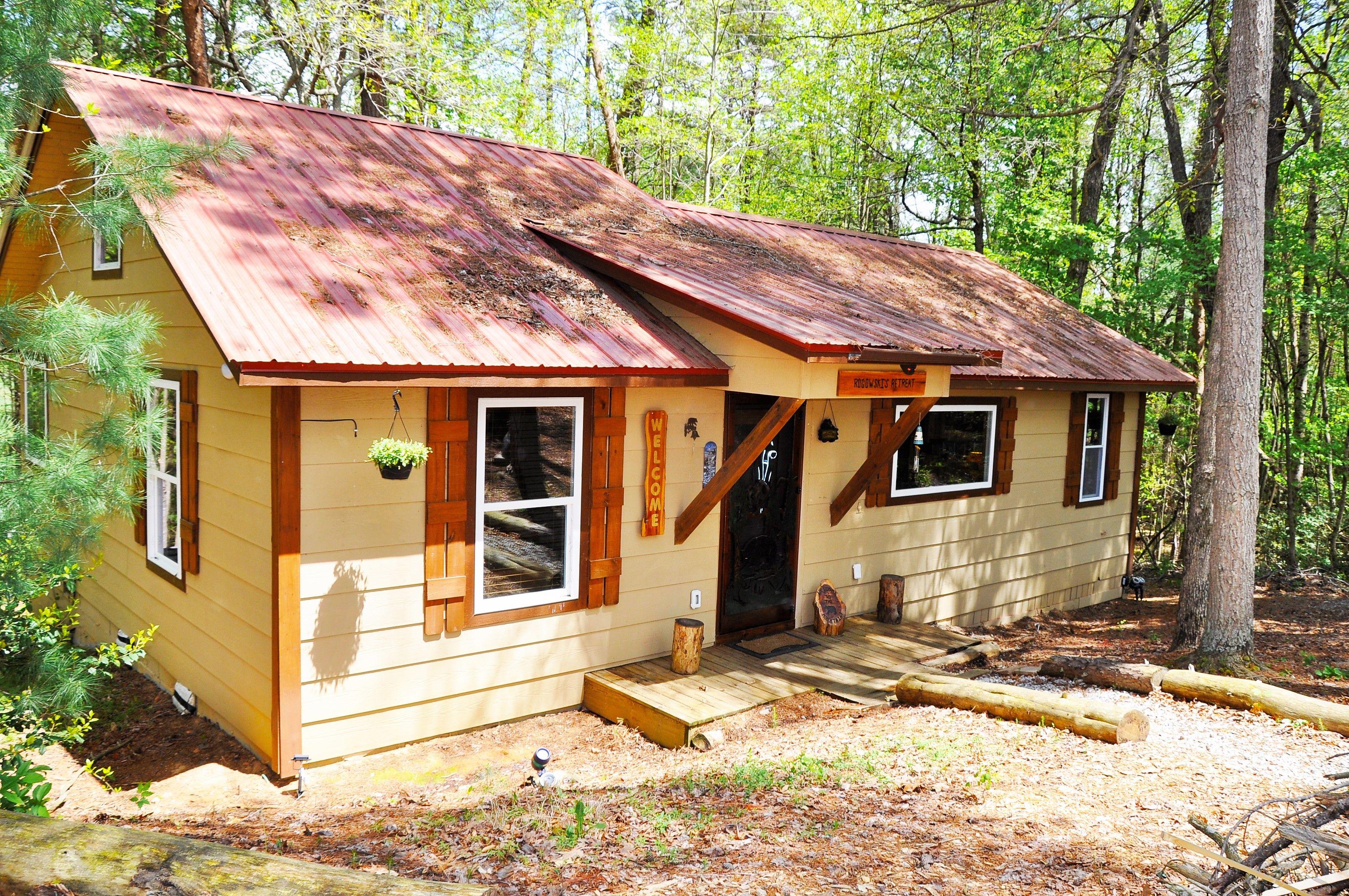 Bear ridge cabin rental in blairsville ga north ga