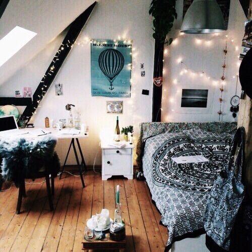 Hipster Schlafzimmer Dekorationsideen Decoraciones de