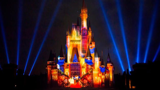 Once Upon A Time show at the Magic Kingdom Walt Disney World