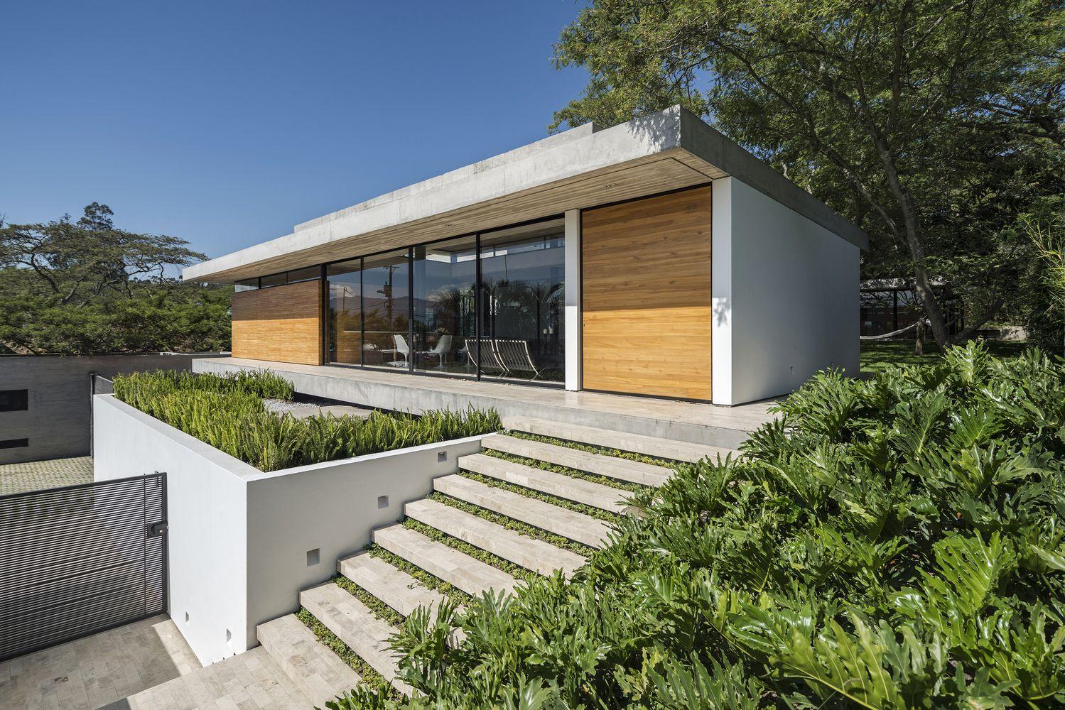 Tacuri House Gabriel Rivera Arquitectos House Design De Casa Moderno Casas