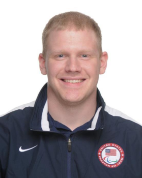 Matt Buchi '08: Assistant coach for the U.S. Women's Wheelchair Baseketball team in the 2012 Paralympic Games
