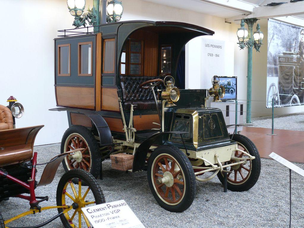 Panhard-Levassor Tonneau Fermé Type A2 1899 vr | alte Autos, Autos ...
