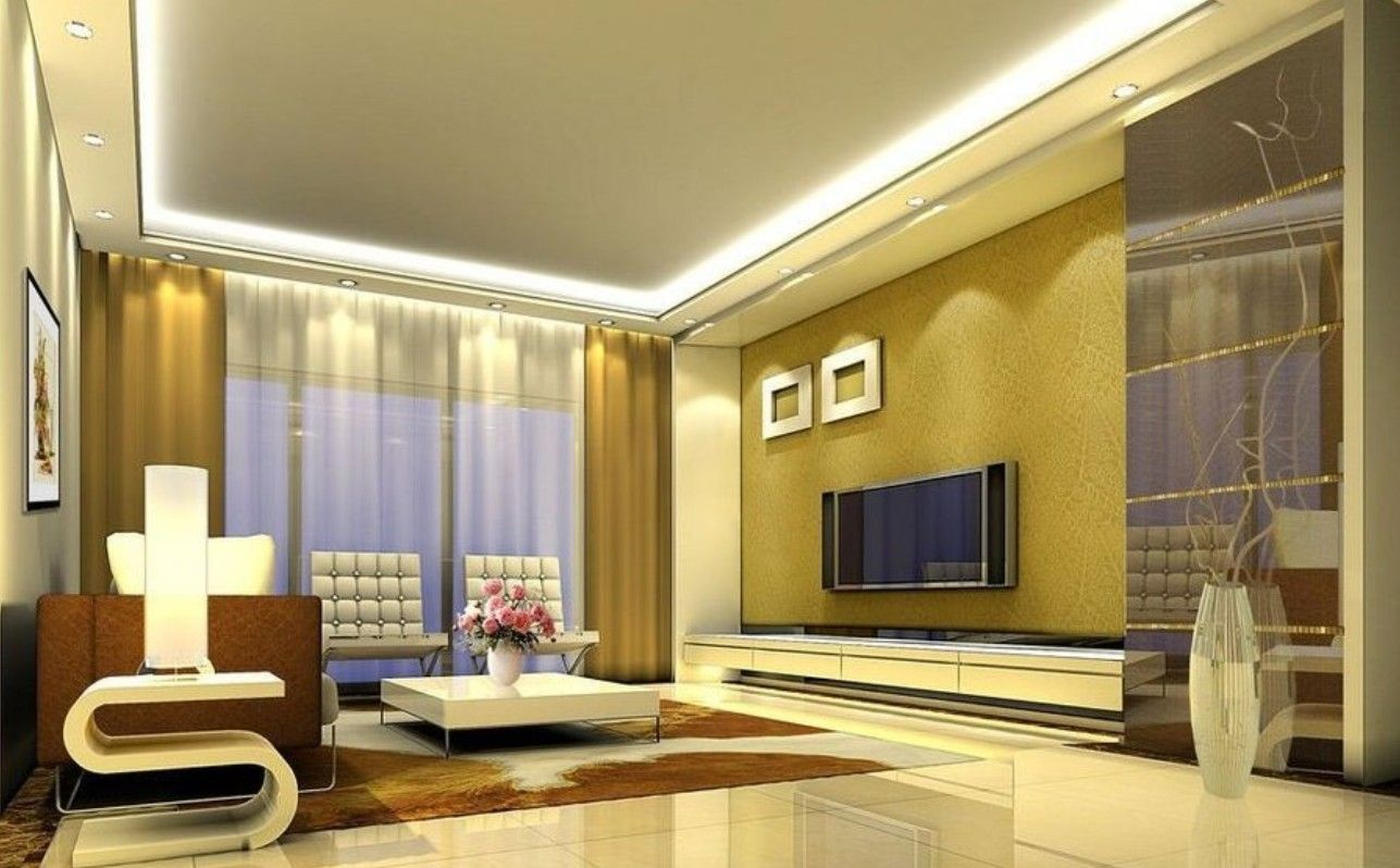 Images About Living Room Interior Design On Pinterest - Interior wall designs for living room