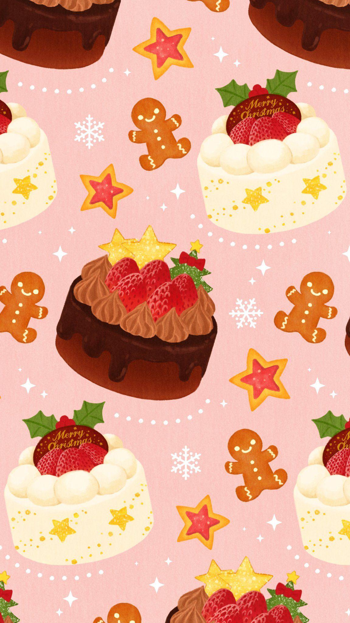 Omiyu みゆき In Cake Wallpaper Cute Screen Savers Cow Print Wallpaper