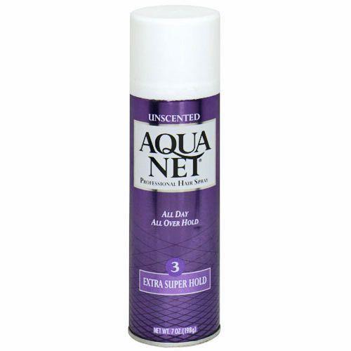 Aqua Net - for that big hair!