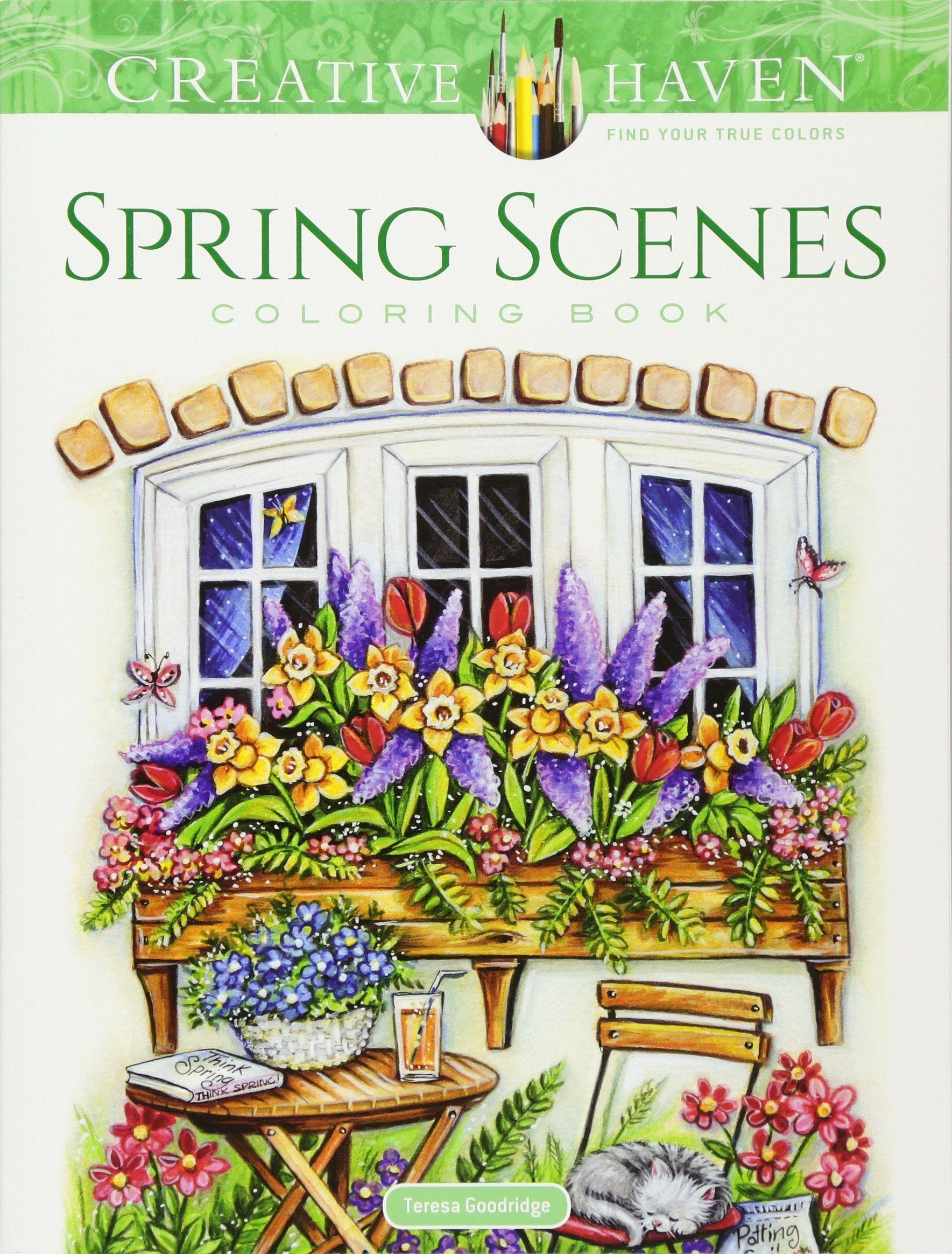 Afbeeldingsresultaat Voor Colourbook Teresa Goodridge Kleurboek Volwassen Kleurboeken Knutselideeen