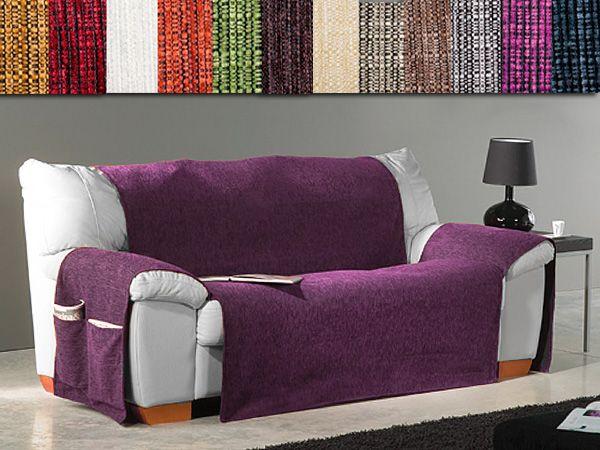 C mo poner una manta decorativa en un sof sofa covers - Decorar muebles con tela ...