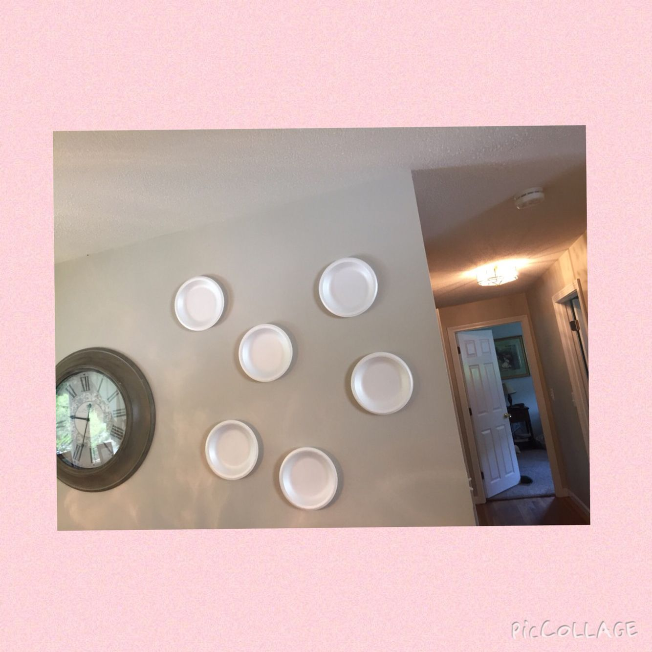 You Can Stick Paper Plates To The Wall Using Static Electricity By Just Rubbing Them Back