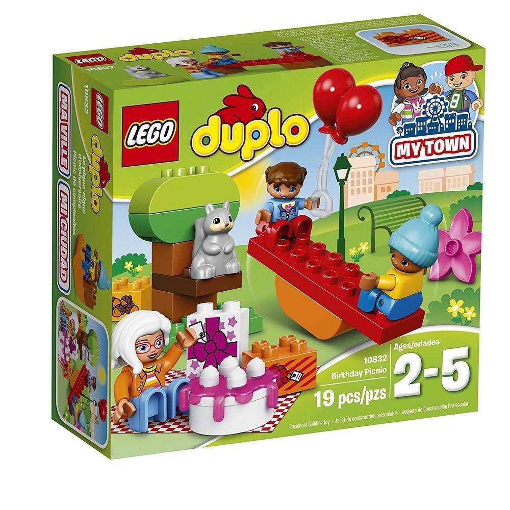Lego Duplo My Town Birthday Party 10832 Preschool Large Building
