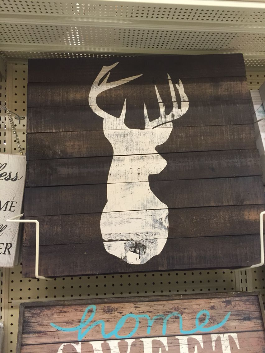 Wood Deer Painting At Hobby Lobby Deer Nursery Hobby