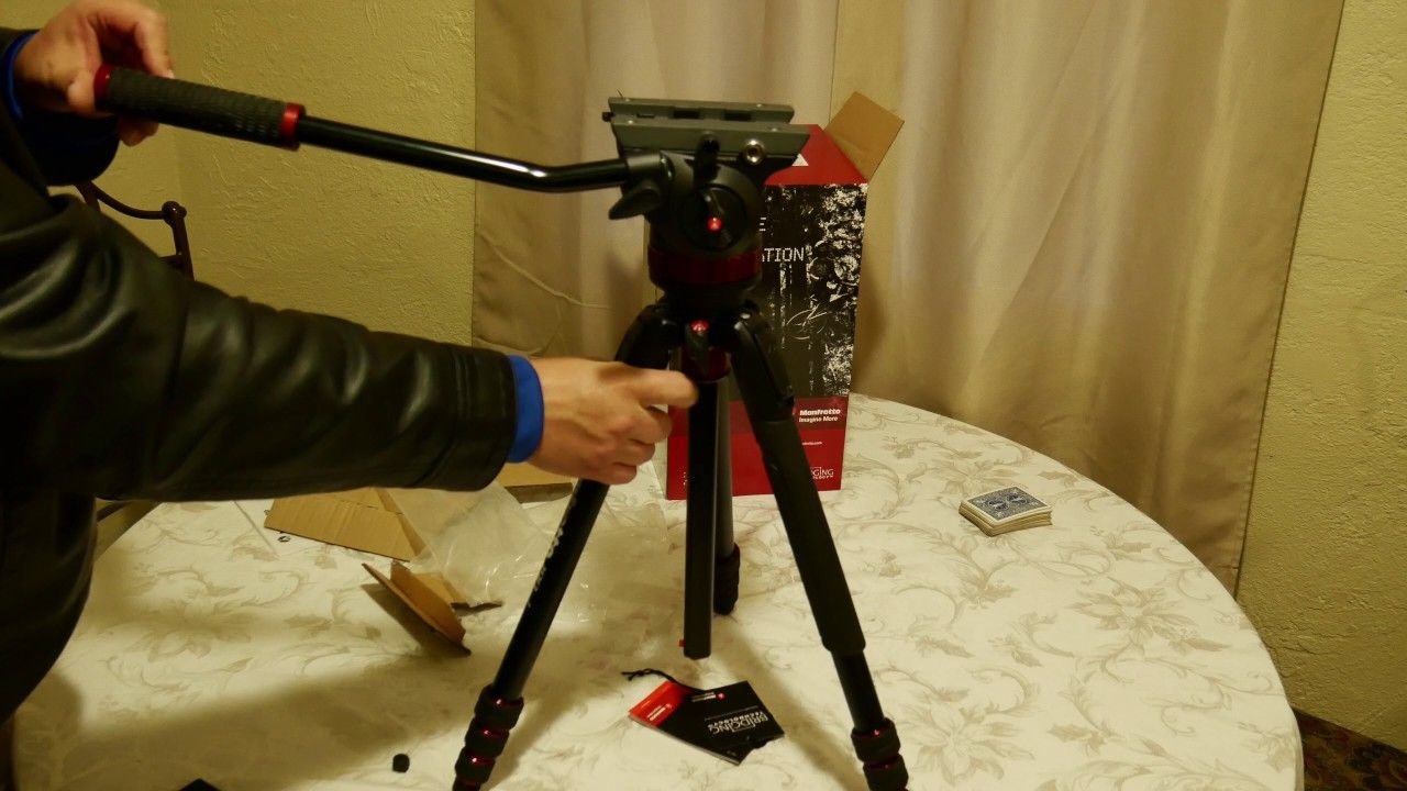 Manfrotto 190go Mvh502ah Video Head Review Https Www Mvh500ah Fluid Camerasdirect