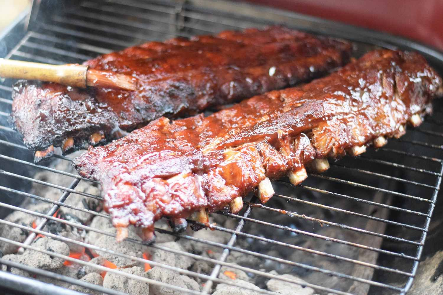 Pin On Grilled Ribs Charcoal