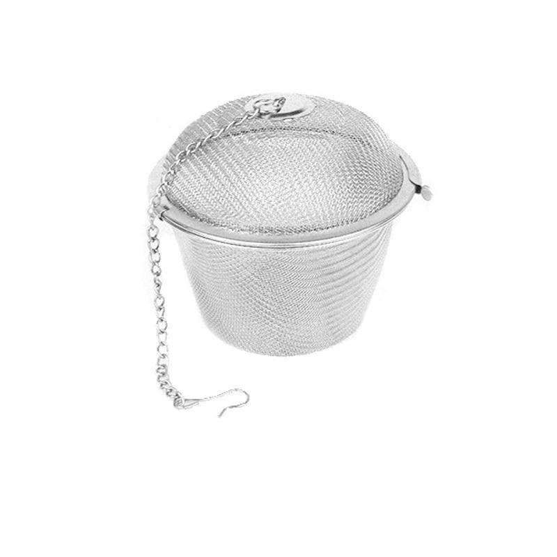 New Stainless Steel Special Design Mesh Ball Spoon Herb and Tea Infuser