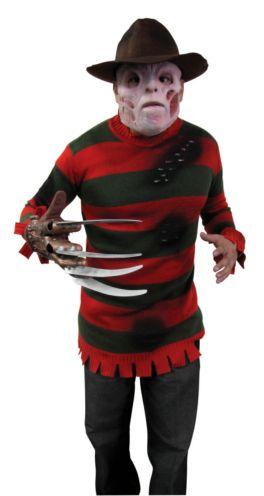 A Nightmare On Elm Street Deluxe Freddy Krueger Sweater Teen