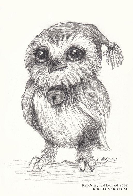 cute_owl by Kiri Østergaard Leonard