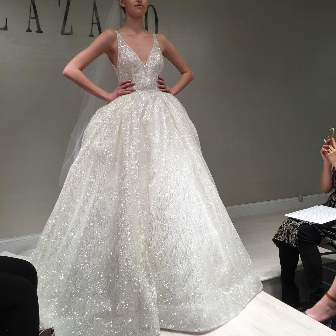 Price Of Lazaro Wedding Gowns: New York Bridal Fashion Week Show Fall 2016 New Collection