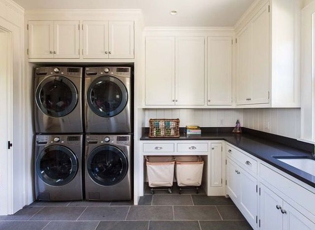 Jonathanraithinc Laundry Room Double Washer Dryer 2 Washers