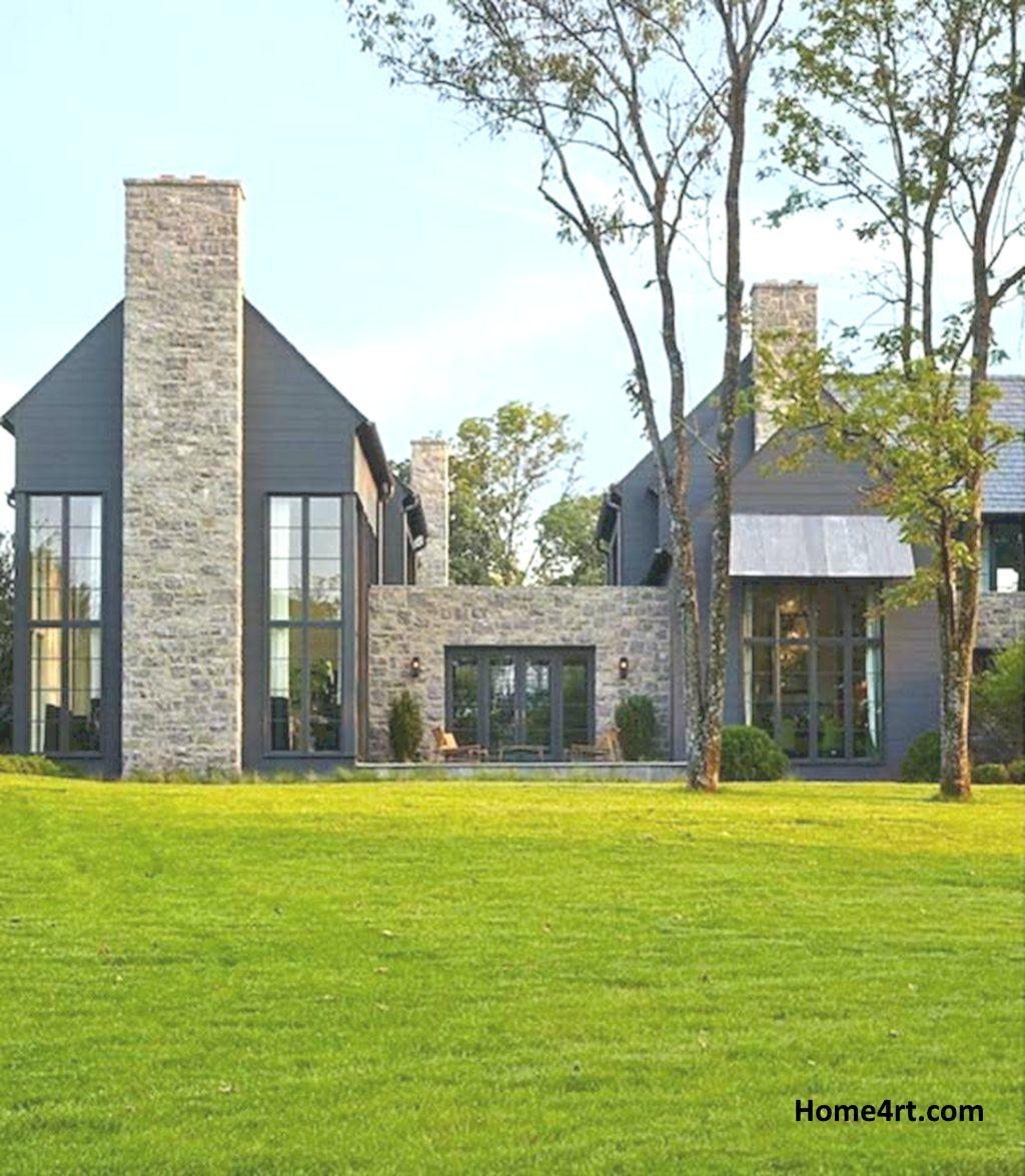 70s Home Exterior Remodel: 70 Awesome Modern Farmhouse Exterior Design Ideas