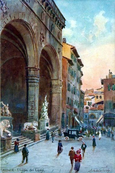 Florence - Loggia dei lanzi