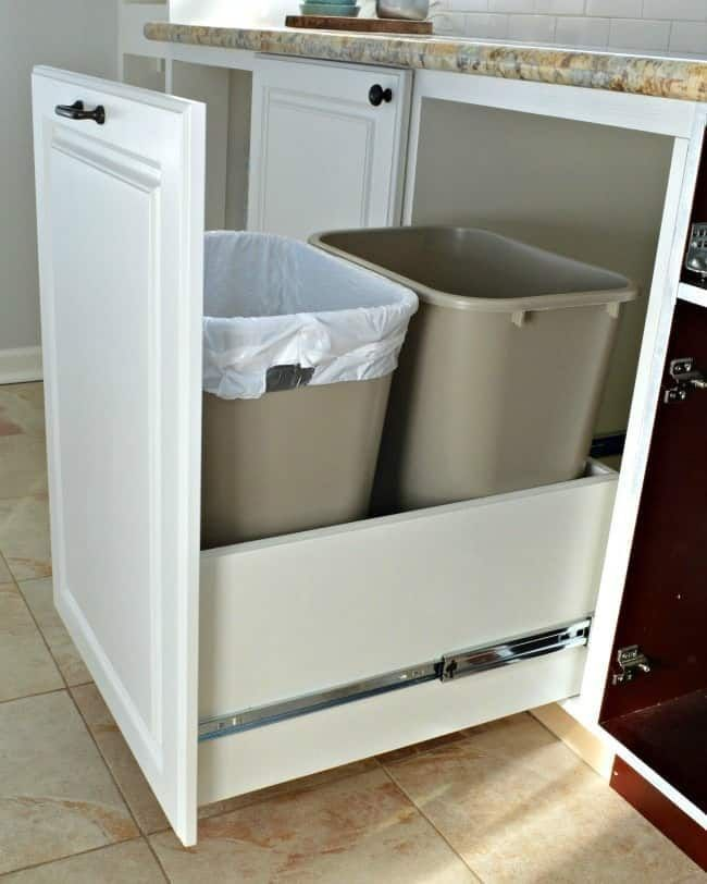How to Make a DIY Pull Out Trash Can