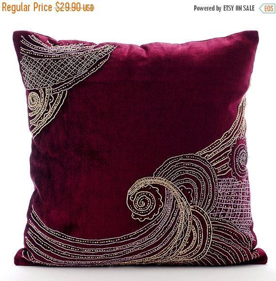 Decorative Cushion Pillow Pillowcase Pillow Case Sofa Cushion Couch Pillow Waves 40x40cm