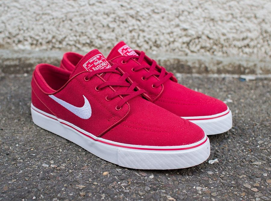 Nike SB Stefan Janoski - Varsity Red - White - Black - SneakerNews.com