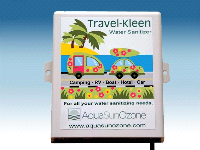 Aqua Sun Travel Kleen Ozone Generator Water Sanitizer
