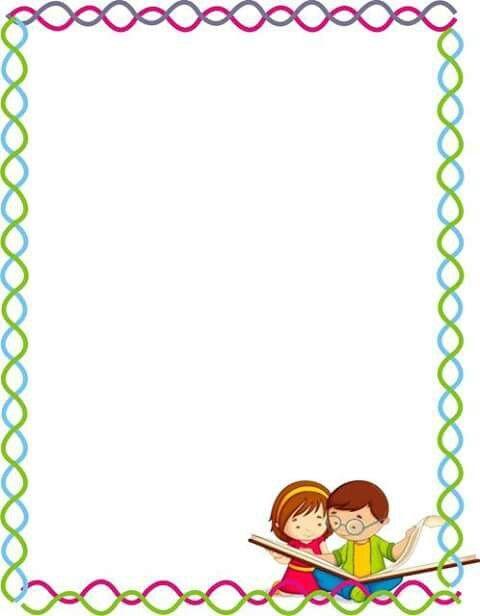 Marco escolar educaci n pinterest marcos marcos for Bordes jardin
