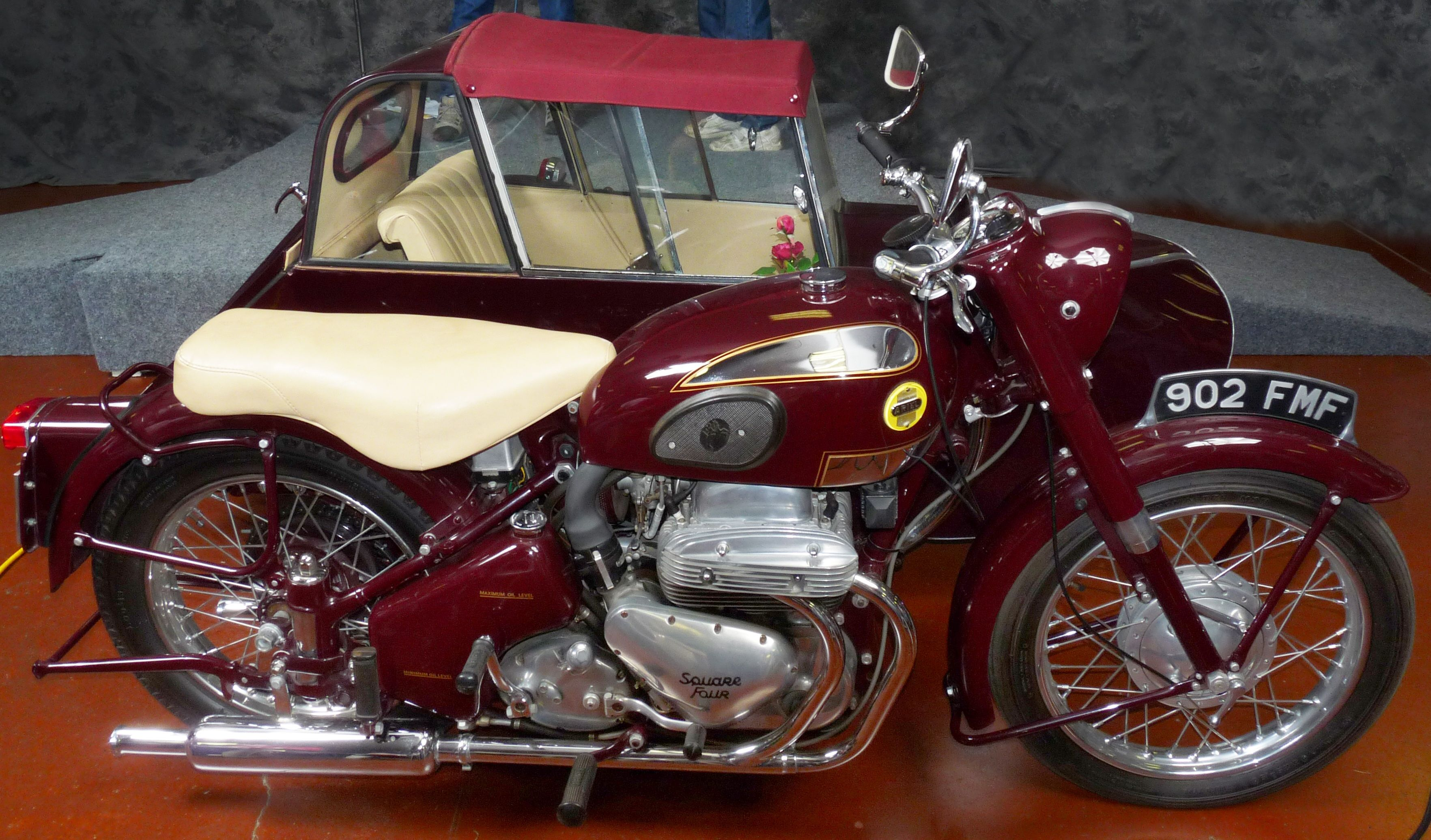 Ariel 1956 with sidecar