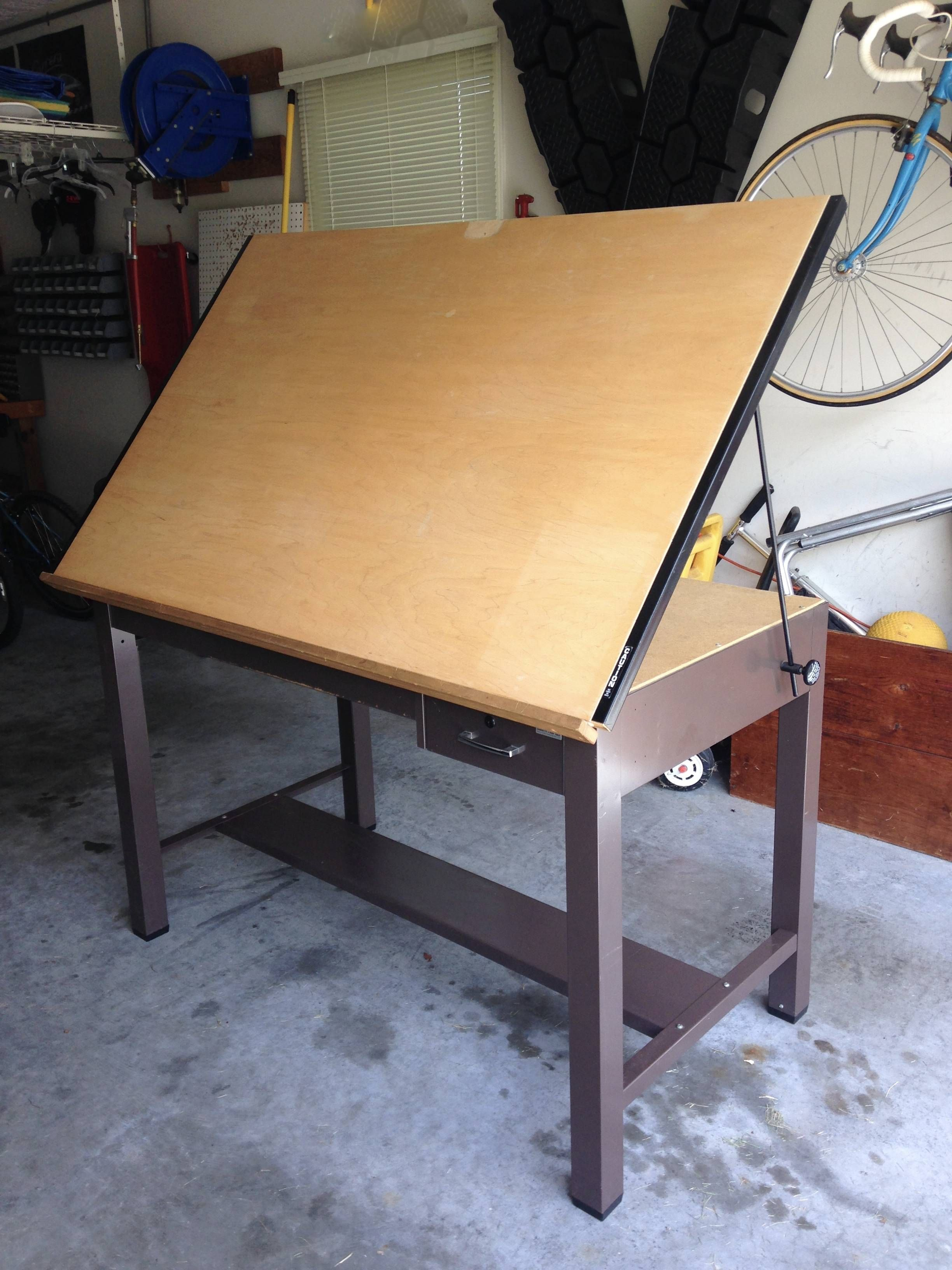 My Dad And I Refinished A Drawing Drafting Table For Studio QuickCrafter