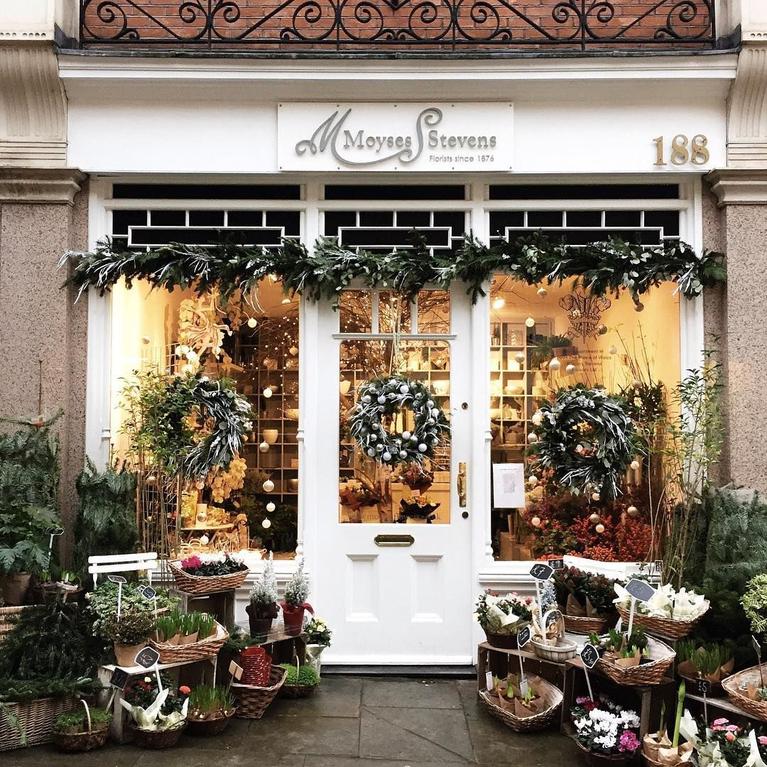 Kensington Storefront Design Flower Shop Christmas Destinations