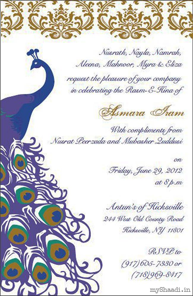 Indian Wedding Invitation Wording Samples | Wedding cards ...