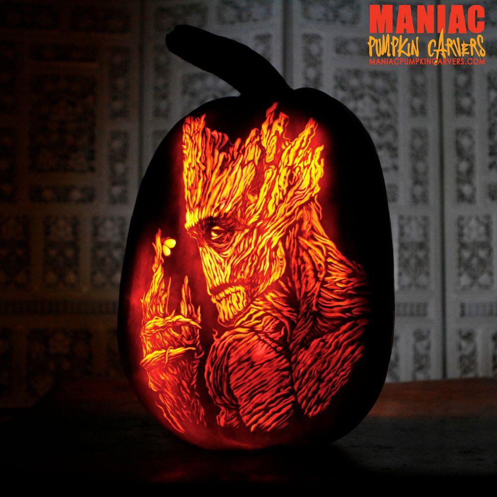 This is Groot. | Pumpkin Carvings | Pinterest