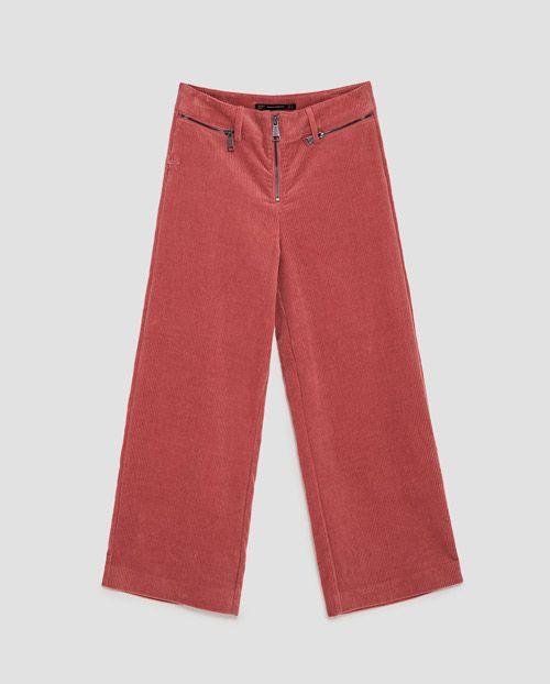 15 Pantalones De Pana De Mujer Que Vas A Querer Nomad Bubbles Pantalones De Pana Pantalones De Piernas Anchas Moda