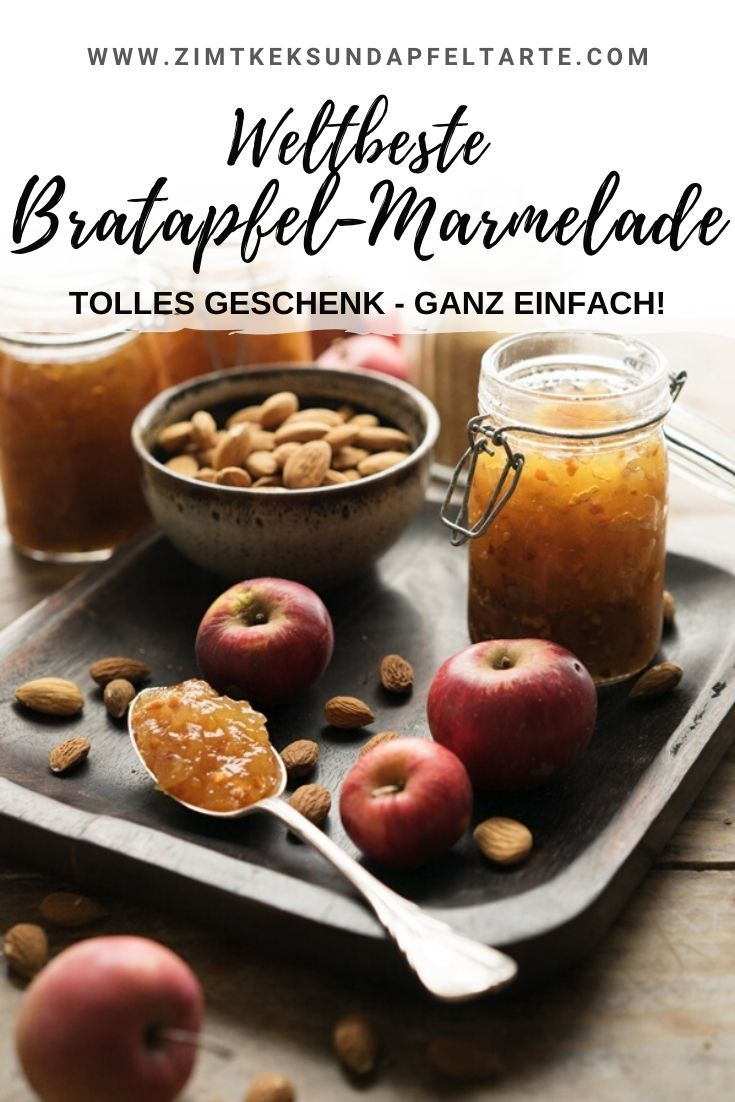 Bratapfel-Marmelade - gelingsicheres Rezept #frühstückundbrunch