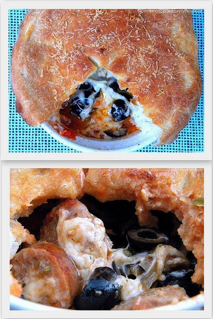 Pizza Pot Pies