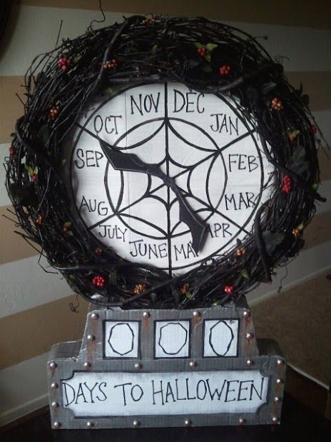 disneyland haunted mansion holiday nightmare before christmas countdown clock this is a tutorial on how to make the nightmare bef - Nightmare Before Christmas Clock