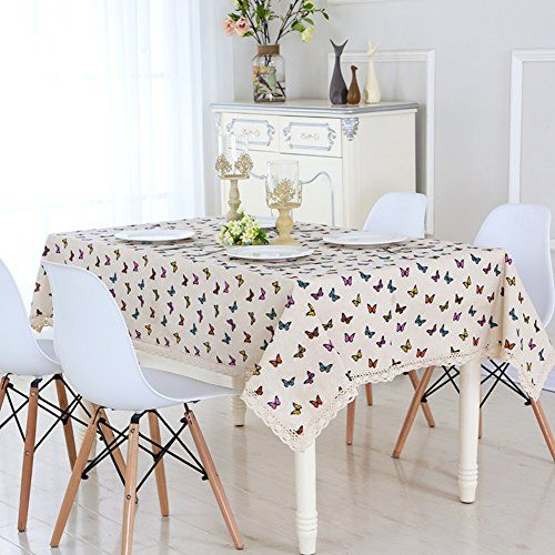 Cloth Simple Linen Cloth Tablecloth Rectangular Coffee Cloth Pastoral Round Tablecloth F 150x150cm 59x59inch Home Decor Home Table Cloth